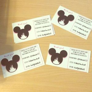Other - Disney business cards